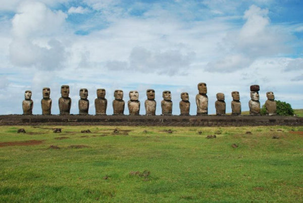 Ahu Tongarki Easter Island